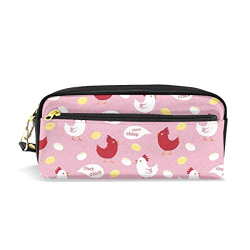 (Multifunction Durable Cosmetic Bag Chicken Cluck Cluck Pencil Bag Pouch Bag Case Makeup Bag)