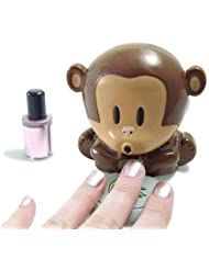 HD Design Cute Monkey Shaped Manicure Nail Polish Blower...