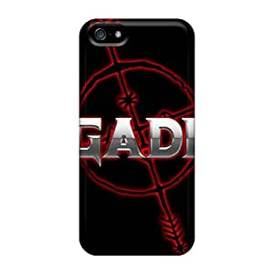 Fashion Tpu Case For Iphone 5/5s- Megadeth Defender Case Cover