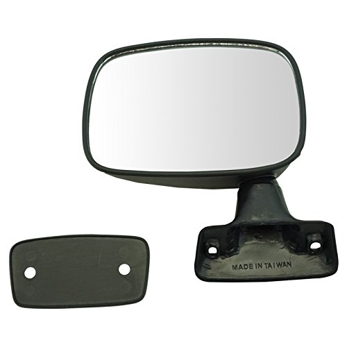 Manual Black Door Mirror LH Left Driver Side for 79-83 Toyota Pickup Truck