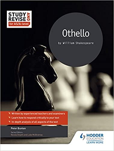 Study and Revise for AS/A-level: Othello: Amazon co uk: Pete