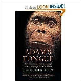Book Adam's Tongue byBickerton
