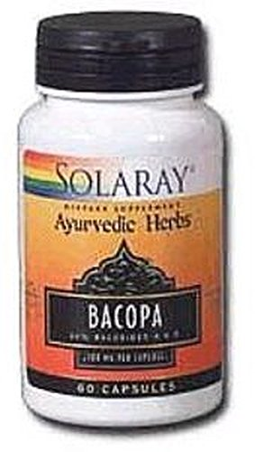 Bacopa 60 cápsulas de 100 mg de Solaray