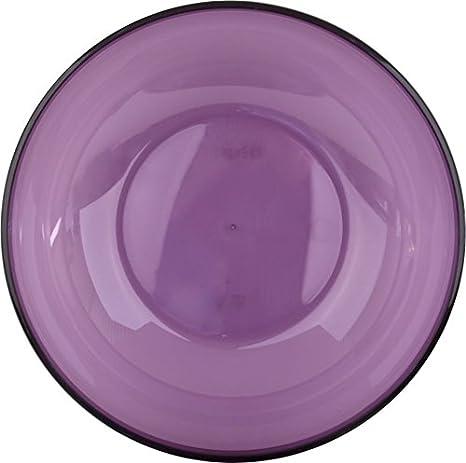 3,5/l Mozaik Saladier de plastique ronde color Aubergine de 27/cm
