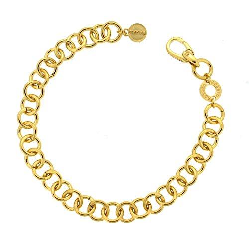 Rosato BR02 Bracelet charms en argent et or