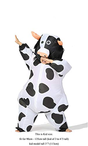GOPRIME Halloween Inflatable Costumes (Cow Kid)