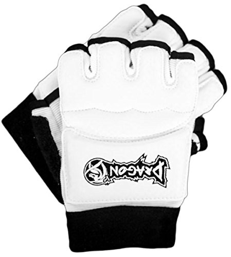Dragon Do Taekwondo Gloves - Best For Taekwondo, Karate, Martial Arts, Sparring Gear - Half Mitts - Durable