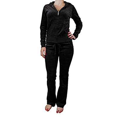 Hot Zenana Womens Velour Suit Set hot sale
