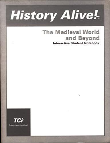 ?TXT? History Alive! Medevial World And Beyond: Interactive Student Notebook. horas Correo oficial usadas Poland otros Servicio served
