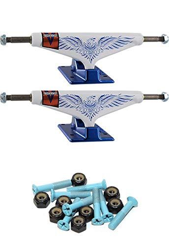 Venture Trucks Paul Rodriguez P-Rod Feniks LTD Pro V-Hollows White/Blue Skateboard Trucks with 1