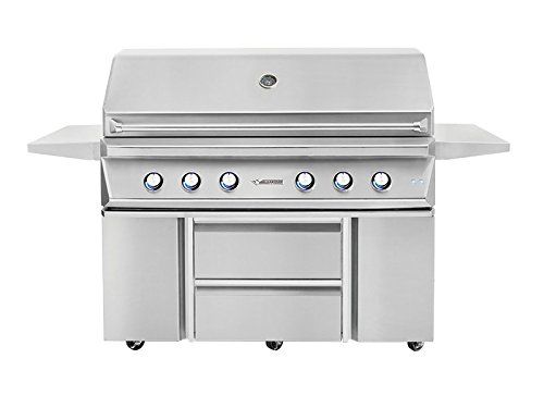 Twin Eagles TEGB54SD-B Door and Drawers Grill Base, 54 Inch by Twin Eagles