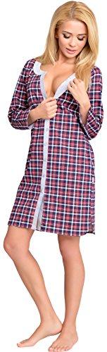 Be Mammy Lactancia Camisón para Mujer Emily Modelo-1