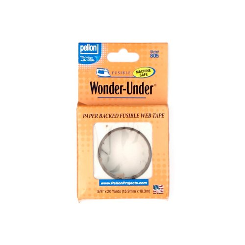Pellon 0307109 ST-805 Wonder-Under 5/8in Fusible Web Tape (Paper Backed)