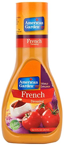 American Garden French Dressing Gluten Free 9 fl.oz (267ml) (American French Dressing)