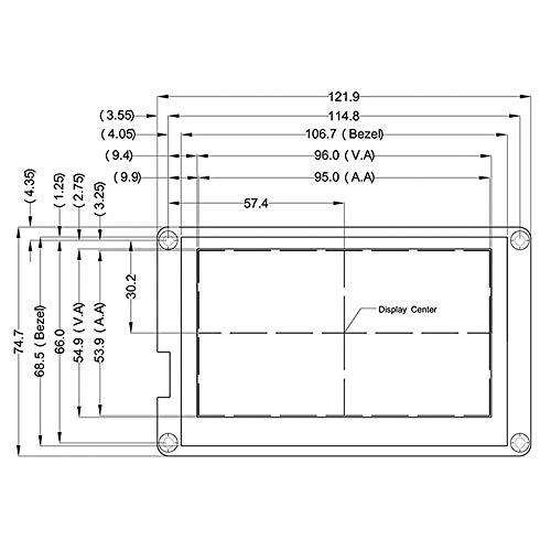 Andifany Piezas De La Impresora 3D Pantalla De LCD De 4.3 Pulgadas ...