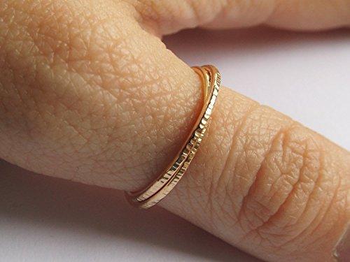 45ba4e38c4f4e Gold Interlocking Thumb Rings,Thumb Rings,Gold Thumb Ring,Textured  Rings,Rolling Ring,Stacking Rings, Minimalist Rings, Unique Rings, Rings