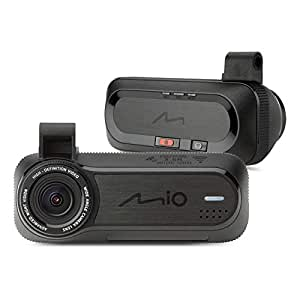 Mio MiVue J85 Dash Cam with Wi-Fi and Safety Camera Warnings