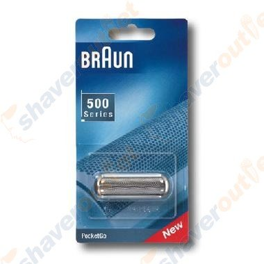 Braun 5S 5609, 370/575 PocketGo Foil & Frame (Braun Razor Battery compare prices)