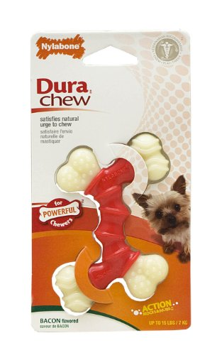 Nylabone-Dura-Chew-Double-Bone-Bacon-Flavor