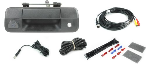 Rostra 250-8599 Tailgate Latch Handle Camera for2007-2013 Toyota Tundra (8599 Series)