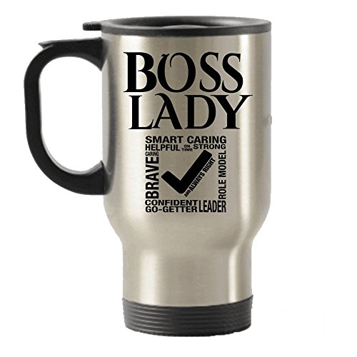 Boss Lady Stainless Steel Travel Insulated Tumblers Mug- gif