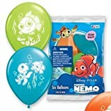 Finding Nemo Printed 12in Latex Balloons 6ct by Party America