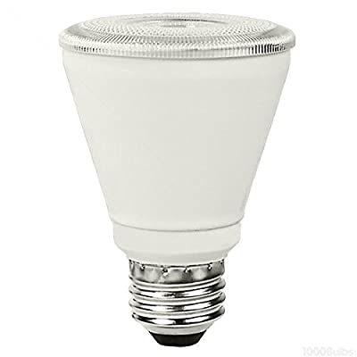 60W Equal 2700K PAR20 LED Light Bulb - Narrow Flood - TCP LED10P2027KNFL