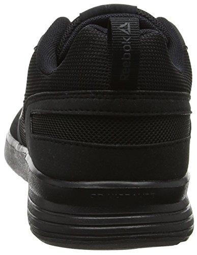 Reebok Foster Flyer, Zapatillas de Entrenamiento Mujer Negro (Black / Coal)