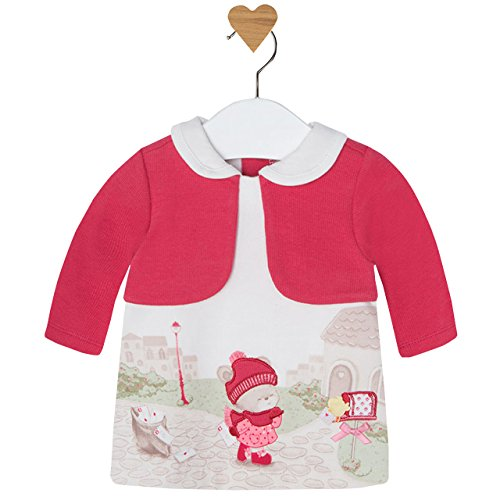 - Mayoral Sweetie Bear Cardigan Dress (Preemie)