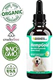 Organic Hemp Oil for Dogs (250 mg) Full Spectrum Hemp Oil for Pets Anxiety Relief, Cat Calming and Joint Health - Apply to Dog Food or Water - 3rd Party Tested
