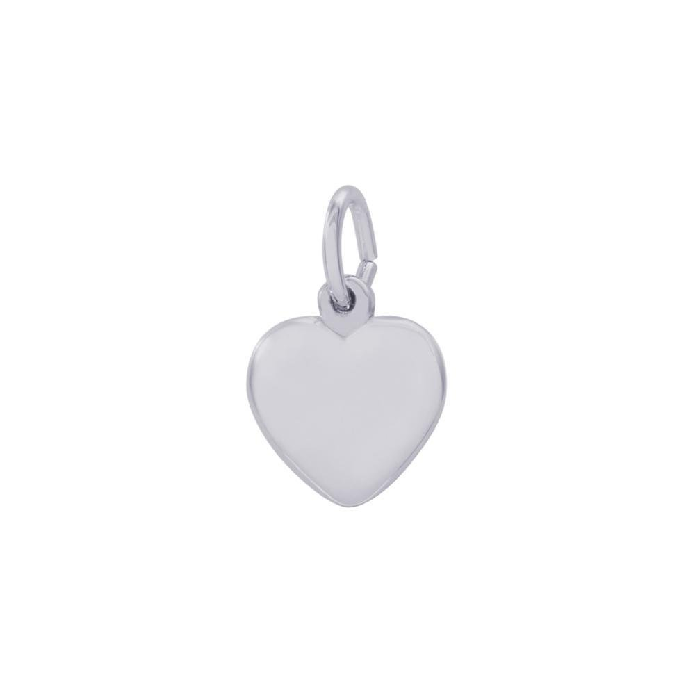 Rembrandt Sterling Silver Heart Charm