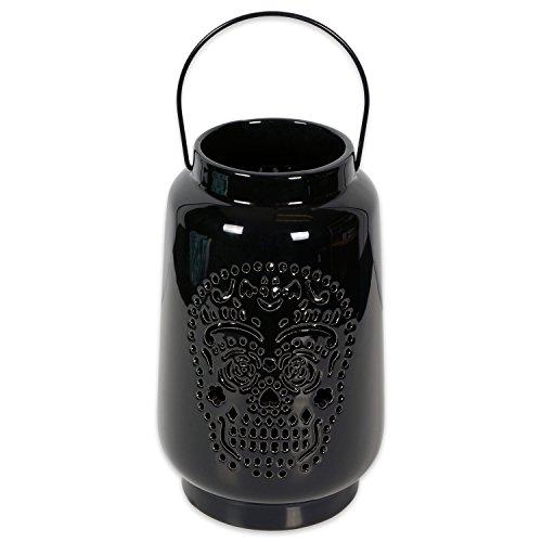 DII Black Dia DE Los Muertos Lantern, Small,]()