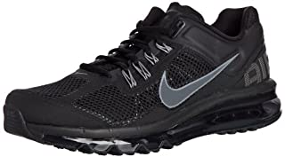 Nike Air Max+ 2013 Mens Running Shoes 554886 001 (9.5) Black
