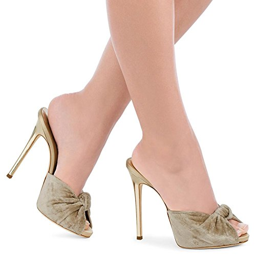 Aguja Alto Boda De Las Verano Zapatos yc Primavera Tacón Noche Champagne L Y Mujeres Pu RnEH7IqEw
