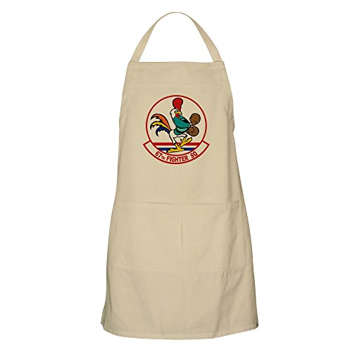 CafePress - BBQ Apron - Kitchen Apron with Pockets, Grilling Apron, Baking Apron Air Force Pocket Patch