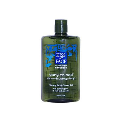 KISS MY FACE BATH AND SHOWER GEL EARLY TO BED CLOVE AND YLANG YLANG - 16 FL (Shower Bed)