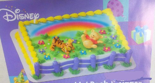(BABY WINNIE POOH TIGGER cake Decoration TOPPER Cupcake Party Favor Baby Shower)