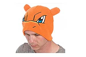 BIOWORLD Pokemon Charizard Big Face Fleece Cap Beanie with Ears