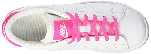 Nike Mädchen Tennis Classic Prm (GS) Gymnastik Bianco (White/White-Pink Blast)