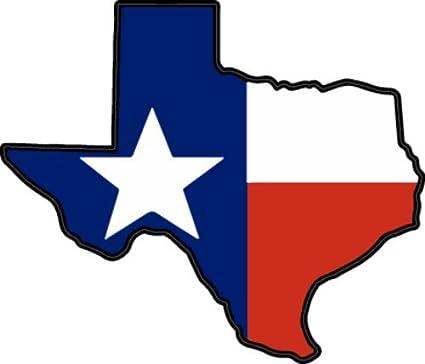 amazon com wickedgoodz texas state flag vinyl decal tx bumper
