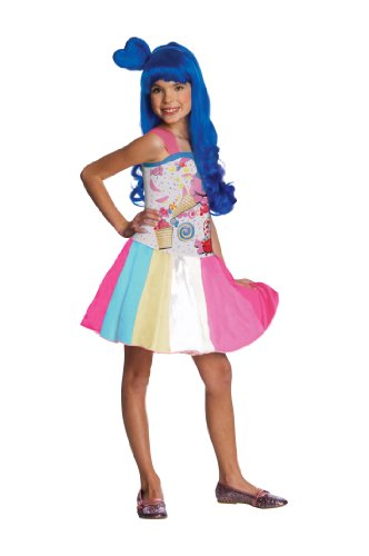 Katy Perry Candy Girl Child's Costume, (California Gurls Katy Perry Costume)