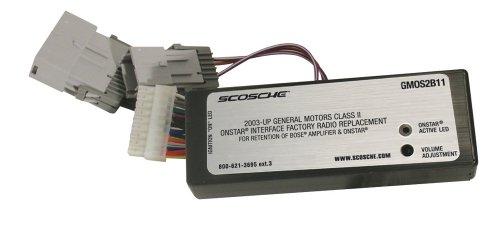 Scosche GMOS2B11 OnStar Interface for Class II with Bose (Scosche Onstar Interface)