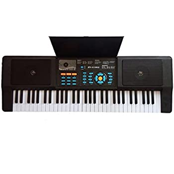 Lightahead Premium Grade 61 Keys Electronic Keyboard Piano Organ with Sing along Microphone Portable Multi-function for all ages