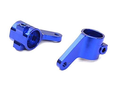 Integy RC Model Hop-ups C27632BLUE Billet Machined Alloy Steering Knuckles for Traxxas 1/10 Bigfoot 2WD Truck - Integy Alloy Steering Block