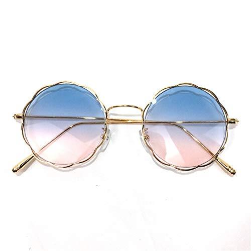 Las con redondas ondulan gafas sol NIFG gafas sol de graduadas retro de gafas las Spqxfd