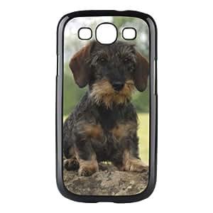 Custom Dachshund Dog Hard Case Clip on Back Cover for Samsung S3 9300