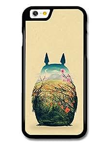 My Neighbour Totoro Hayao Miyazaki Coloured Illustration case for iPhone 6