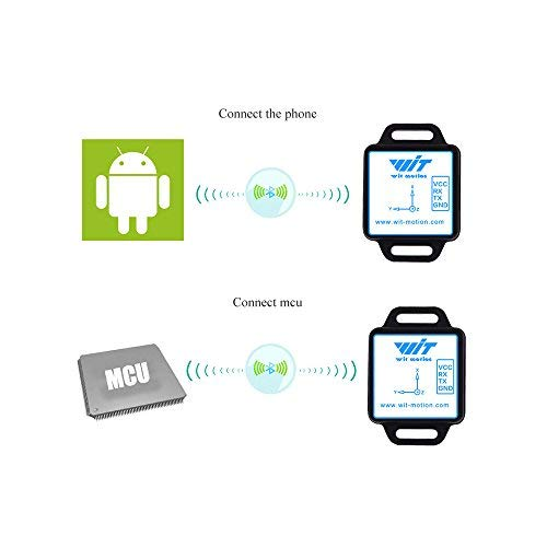 Bluetooth AHRS 3 Axis Accelerometer Acceleration Angle 3