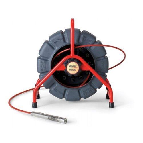 (RIDGID 14063 SeeSnake Mini Video Pipe Inspection Camera, Standard Color Video Inspection Camera with 200-Foot Reel and Transmitter for Pipe Location)