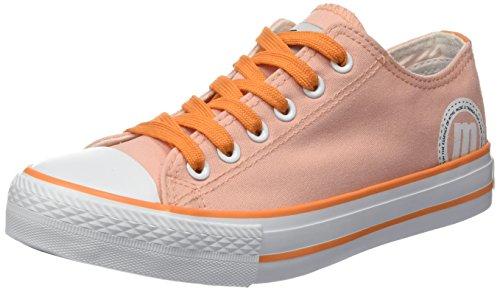 Naranja para 13991 Zapatos Canvas Naranja Mujer Canvas MTNG En4CqxpE